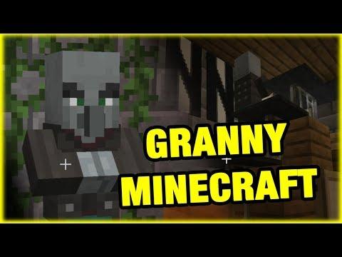 MINECRAFT GRANNY HORROR GAMEPLAY Full Game