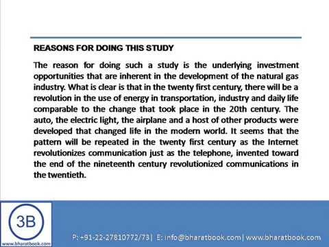 Bharat Book Presents : Global Markets and Technologies for Natural Gas Storage