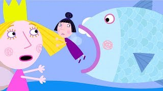 Ben and Holly's Little Kingdom | Nanny Plum Stands on a Big Fish! | 1Hour | HD Cartoons for Kids