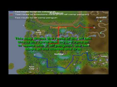 Runescape Elven;Lunar;wildy;port p Video Guide