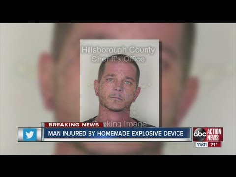 Tampa man lost two fingers from homemade IED bomb