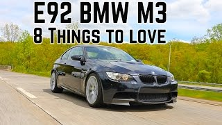 8 things I love about the BMW M3 E92