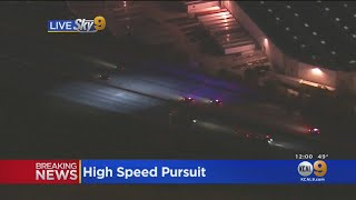 Police Chase Kidnapping Suspect Through LA, OC