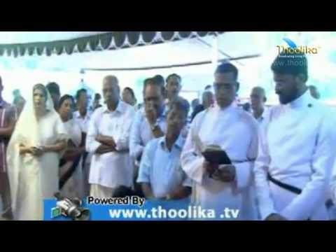Kunjamma Joseph -  76 Funeral Service on 20/10/2014