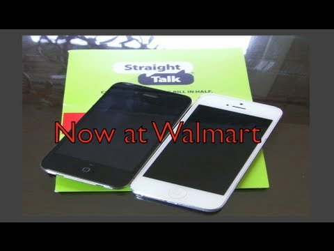 Straight Talk now has the iPhone 5 (2013)