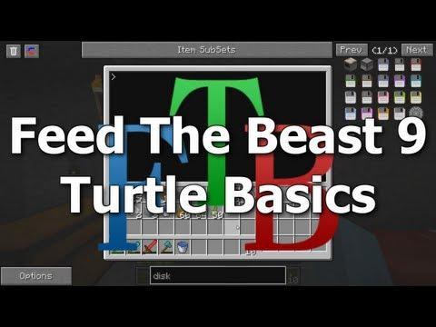 FTB 09 - Turtle Basics [Feed The Beast MindCrack]