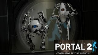 Portal 2 Co-op - Part 2 - His fault...