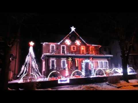 Frosty The Snowman 2013 Leechburg Lights video