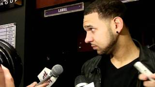 Jared Dudley postgame, Suns vs. Spurs: April 13, 2011