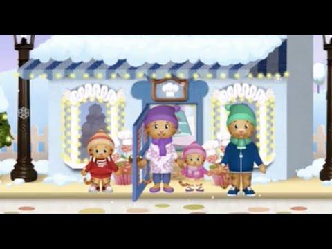 Explore Daniel Tiger's Neighborhood Part 2 - Winter update! -  iPad app demo for kids - Ellie