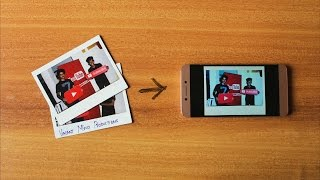 This App Let's You Save your Printed Photos in your Phone!