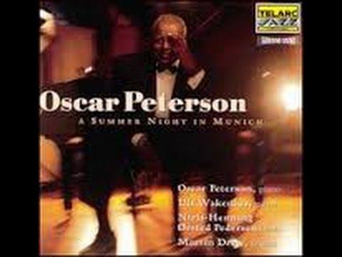 OSCAR PETERSON plays A Summer night in Munich