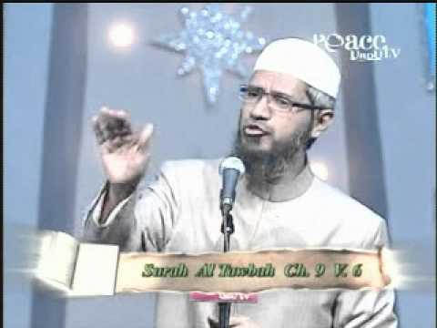 Media Aur Islam Jung Ya Amn Dr.zakir Naik 02 (urdu Bayan) video