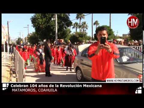 DESFILE DE LA REVOLUCIÓN EN MATAMOROS, COAHUILA 20 NOV 2014