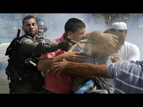Israeli security forces and Palestinians clash amid heightened tensions