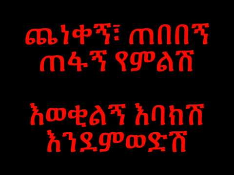Dawit Tsige Betam **LYRICS**