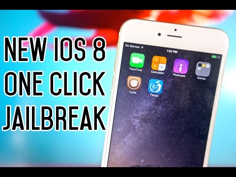 NEW One Click iOS 8.1 Jailbreak Untethered - iPhone 6 Plus, 6, 5S, 5C, 5, 4S, iPad & iPod Touch.