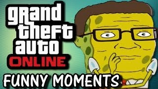 LEROY WE'RE GOING DOWN! - GTA 5 Online Funny Moments & Stunts