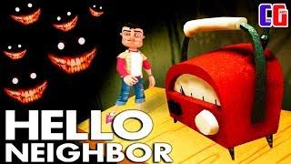 Hello Neighbor СТАЛ МАЛЕНЬКИМ и ПРОШЕЛ СТРАХ ДВОЙНОГО ПРЫЖКА Кошмары Акт 3 в игре Привет Сосед