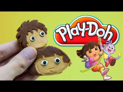 Play Doh Dora The Explorer Playdough Playset By Unboxingsurpriseegg video