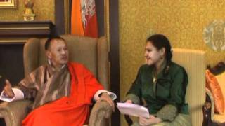 Exporting Eudaimonia: Second Audience with HE the Prime Minister Jigmi Thinley of Bhutan Part 1