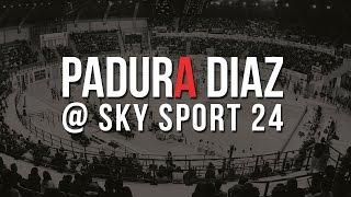 Padura Diaz a Sky Sport 24