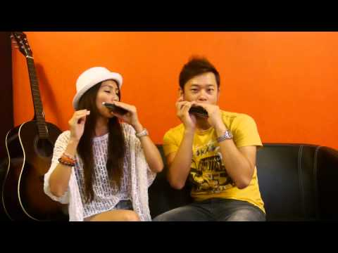 Jessie J Tag Aiden N Evelyn Harmonica Cover