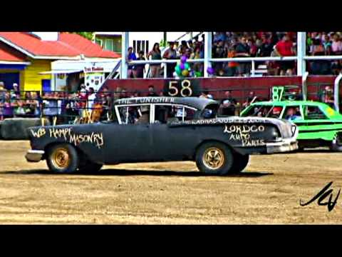 Salmon Arm Demolition Derby 2009