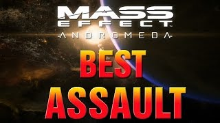 Mass Effect Andromeda BEST ASSAULT Rifle! Sandstorm Vs Ultra Rare Valkyrie GUIDE!