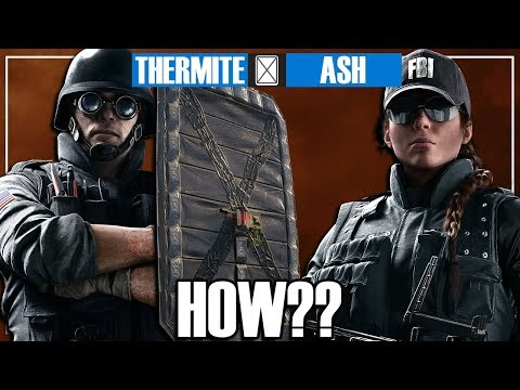 How Noobs Play The Road To SI Event - Rainbow Six Siege
