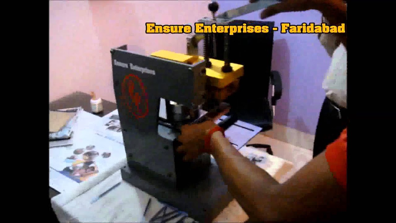 Handy pad printing machine manufacturers in india youtube for T shirt manufacturing machine in india