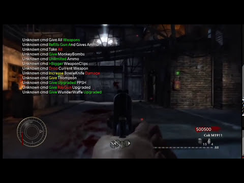 Xbox360 Cod Waw Zombies Usb Mod menu V2 *Download* More Options and Visions