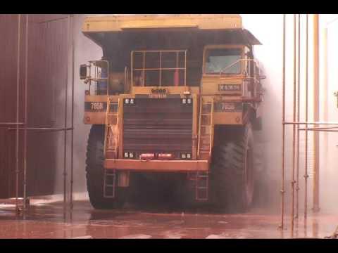 Interclean Equipment - Automated Haul Truck Wash