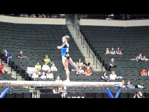 Lexie Priessman - 2011 Visa Championships - Balance Beam Day 2