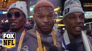 Rams players have a message for angry Saints fans | FOX NFL