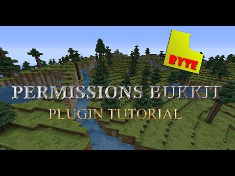 Permissionsbukkit permissions plugin - simple setup walkthrough and usage