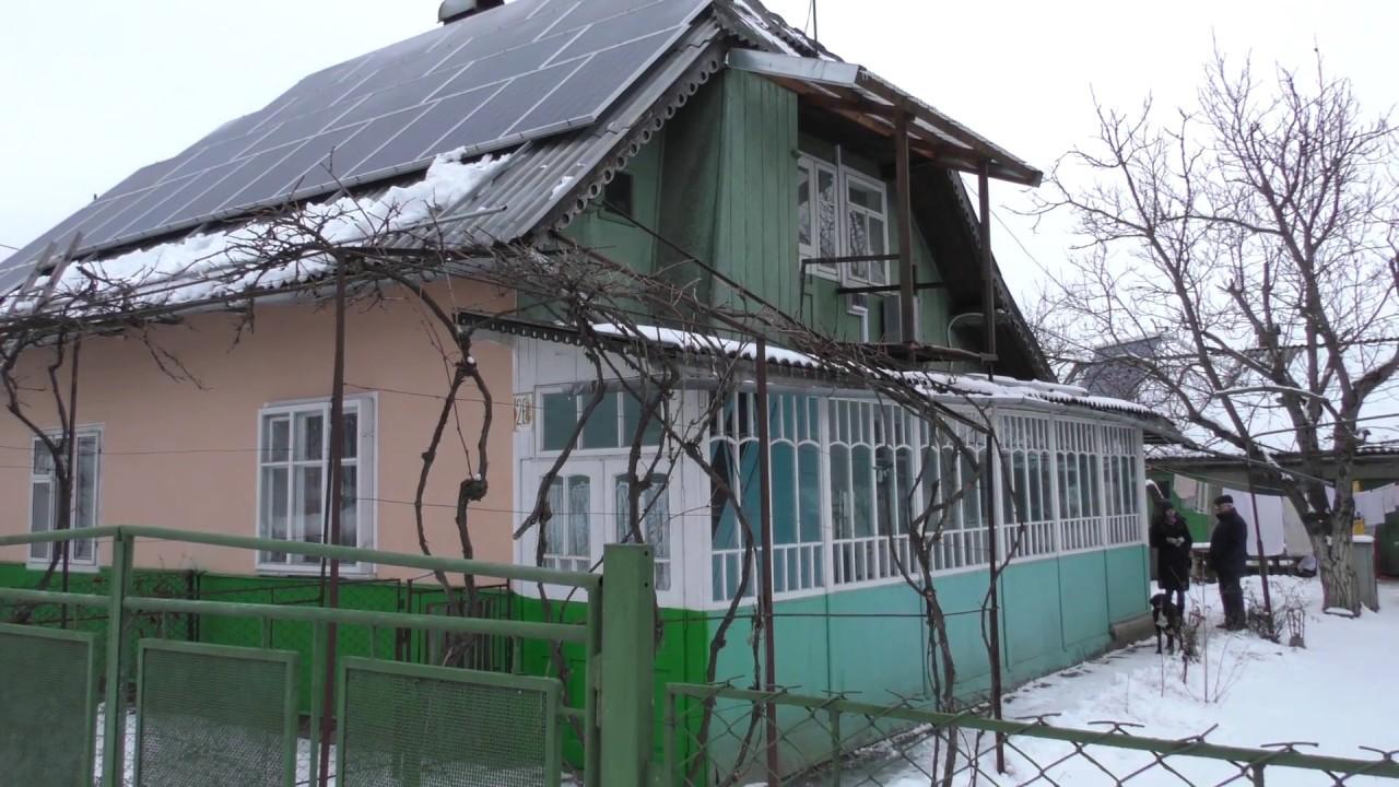 Калушанин Іван Вінтонів майже відмовився від газу і живе та заробляє на сонячній енергії