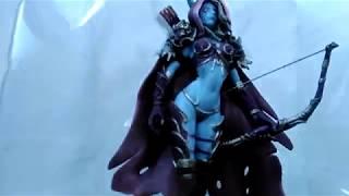 Обзор коллекционной фигурки Сильвана Ветрокрылая World of Warcraft