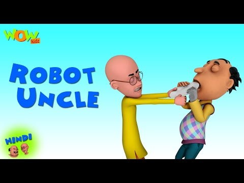 Robot Uncle- Motu Patlu in Hindi - 3D Animation Cartoon -As on Nickelodeon thumbnail