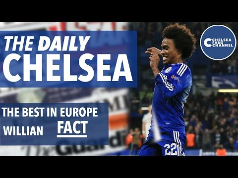 Willian The Best In Europe FACT - The Daily Chelsea - Chelsea Fans Channel