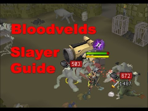 Bloodvelds Slayer Task Guide [Runescape 2013] – Evolution of Combat Slaying Guides