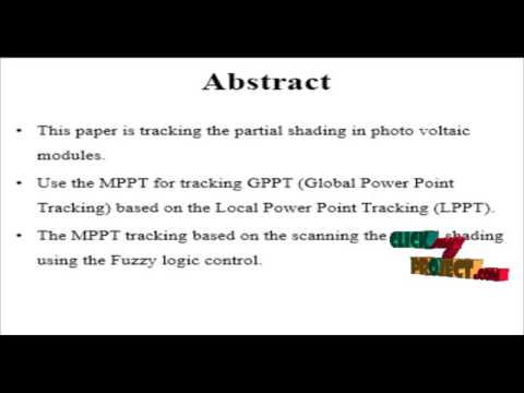 An Improved MPPT Controller for Photovoltaic System Under Partial Shading Condition