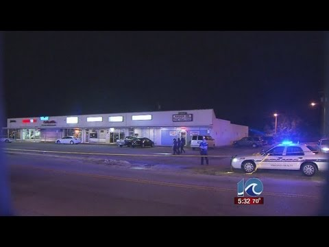 Two men shot outside VB nightclub