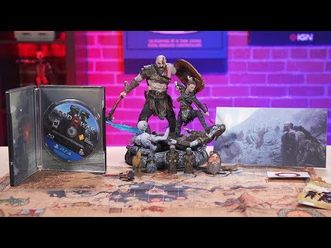 God of War Stone Mason Collector's Edition Unboxing