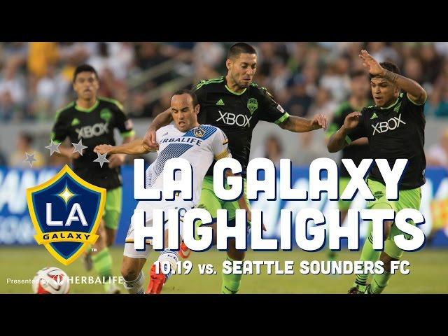 LA Galaxy vs Seattle Sounders 10.19.14 | HIGHLIGHTS