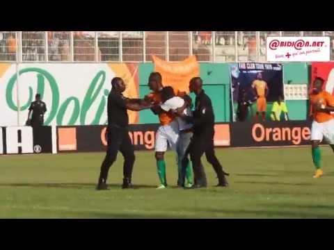 Sierra Leone/Côte d'Ivoire à Abidjan: Un fan de S Kalou se mèle à la rencontre