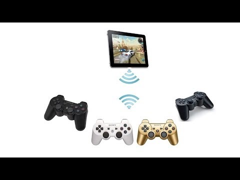 How to connect ps3 controllers with Retroarch on iOS 7