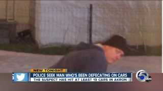 Akron, Ohio Police Looking For Serial Shitter, 19 Cars Dumped On & Inside Of