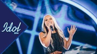 Rebecka Karlsson sjunger This one's for you i Idol 2016 - Idol Sverige (TV4)