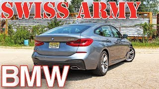 The 2018 BMW 6 Series Gran Turismo is a jack-of-all-trades